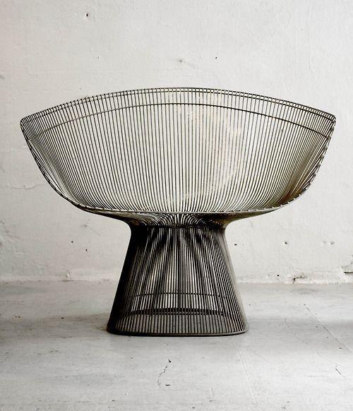 Warren Platner lounge chair, 1966