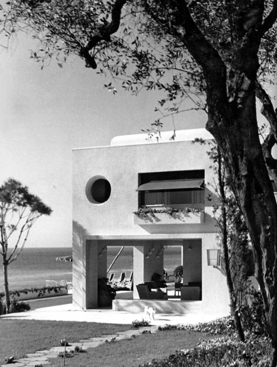 Gio Ponti - Villa Donegani, Strada Nazionale Aurelia, Bordighera, Liguria, Italia 1940