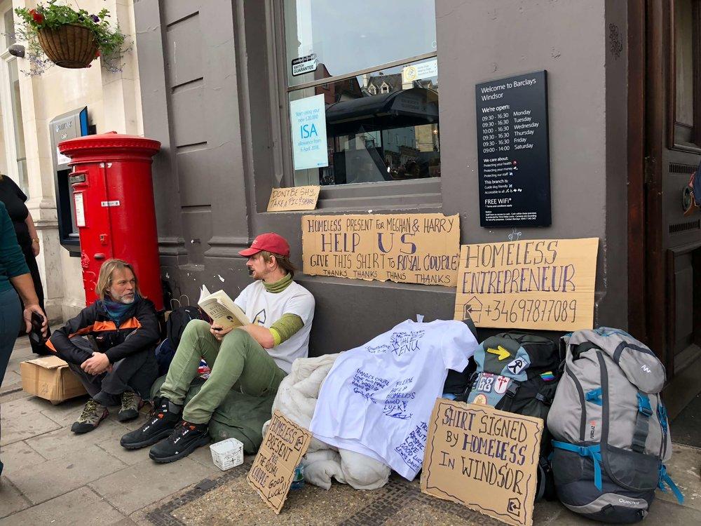 HomelessEntrepreneur.Blog.WIndsor.RoyalWedding