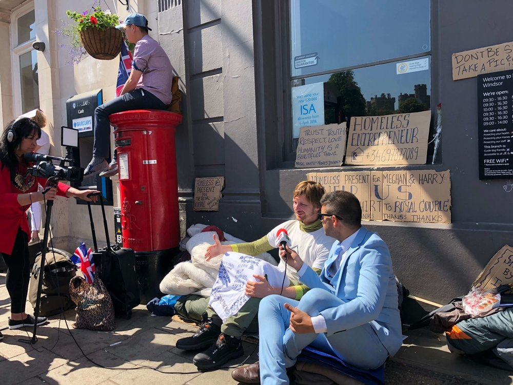HomelessEntrepreneur_RoyalWedding_Interview_Windsor