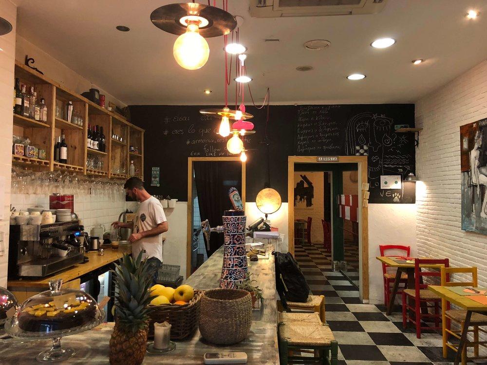 Queremos dar un especial gracias al restaurante  Armonía  por cedernos su espacio para poder llevar a cabo este proyecto.