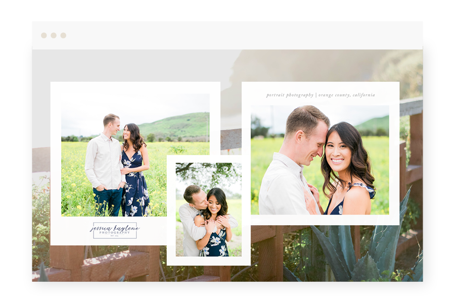 Jessica Kaylene Photography Home Page Design by Valencia Creative Co.png
