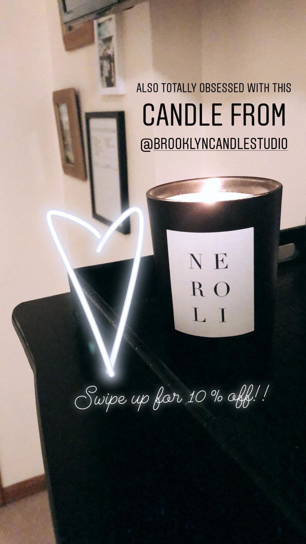 10 % off brooklyn candle studio ! click: HERE  -