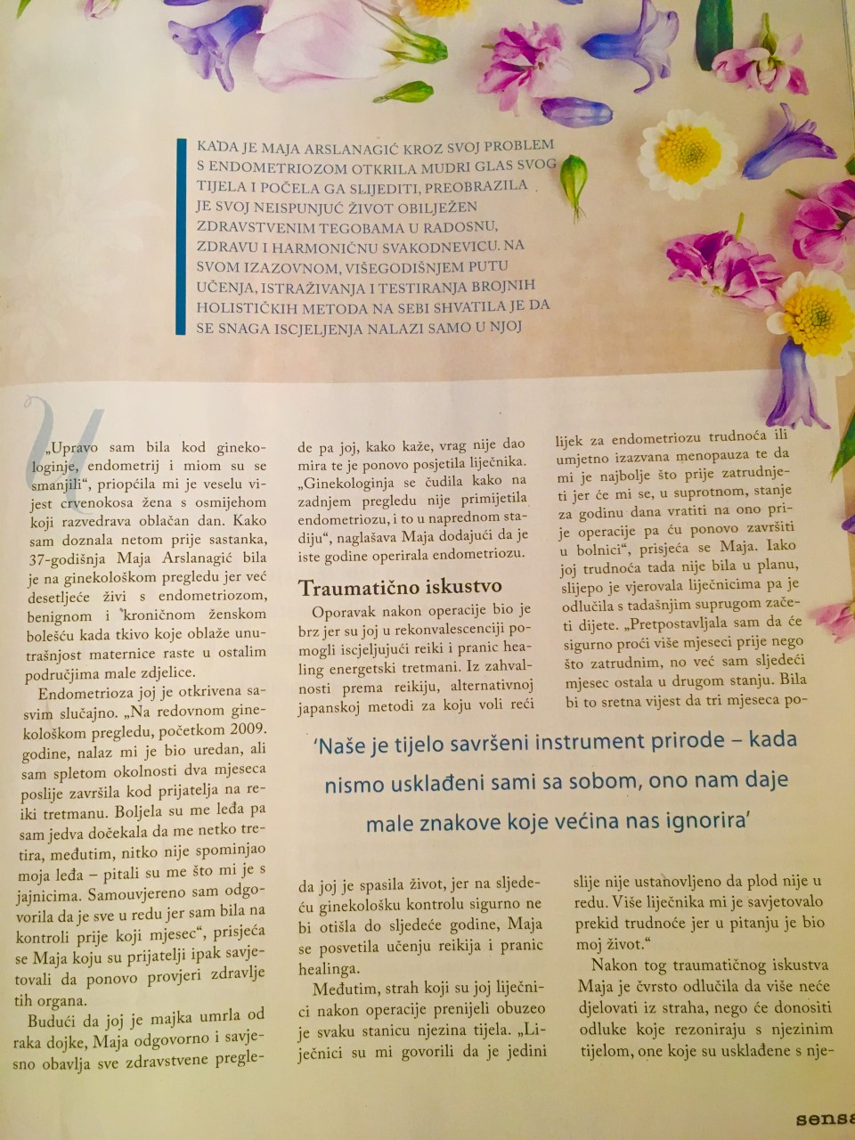 Sensa Magazine, Croatia, April 2018 (2)