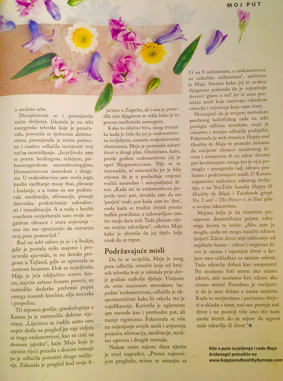 Sensa Magazine, Croatia, April 2018