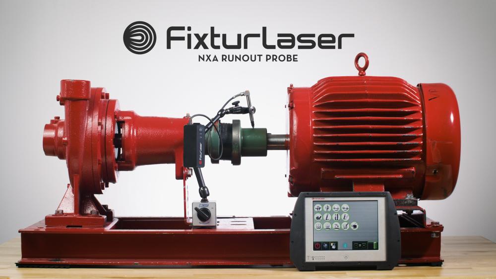Fixturlaser NXA Runout Probe Commercial (2017)