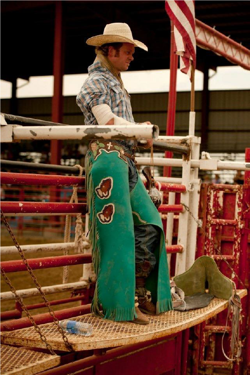 Matt at a rodeo