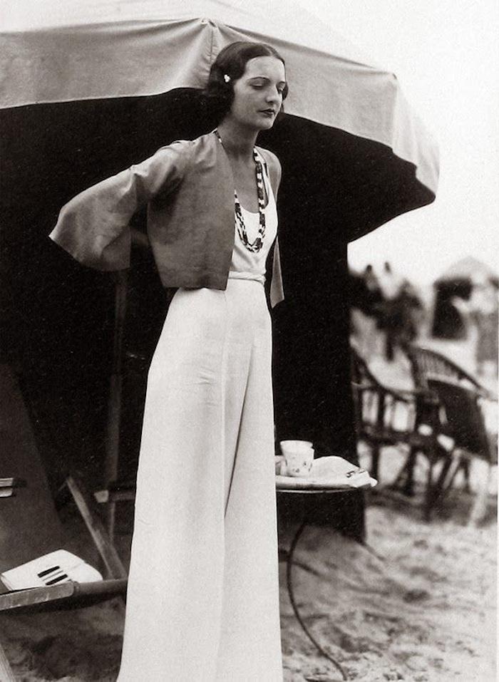 1930s Beach Pyjamas