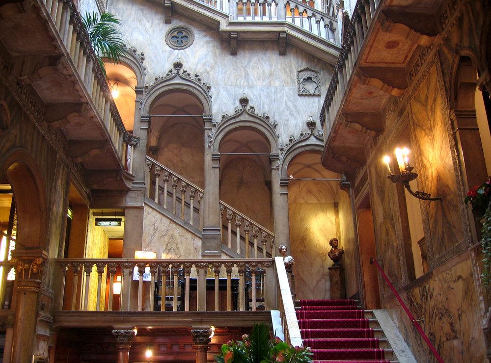 The exquisite Danieli Hotel in Venice