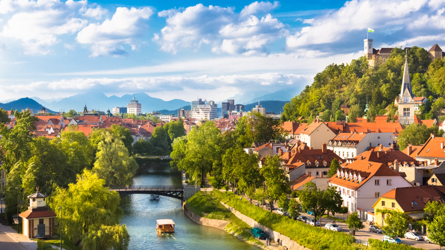 Slovenia - An earthly paradise of snow-capped peaks, turquoise-green rivers and Venetian-style coastline, Slovenia enriches its natural treasures with harmonious architecture, charming rustic culture and sophisticated cuisine.