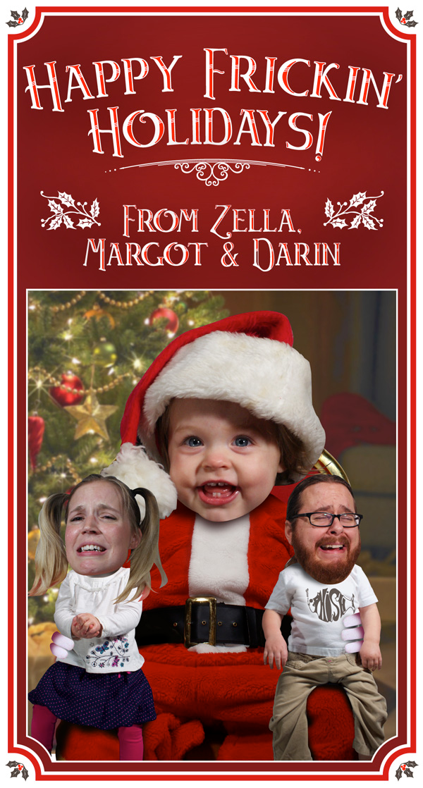 Shock Family Christmas Card: 2012