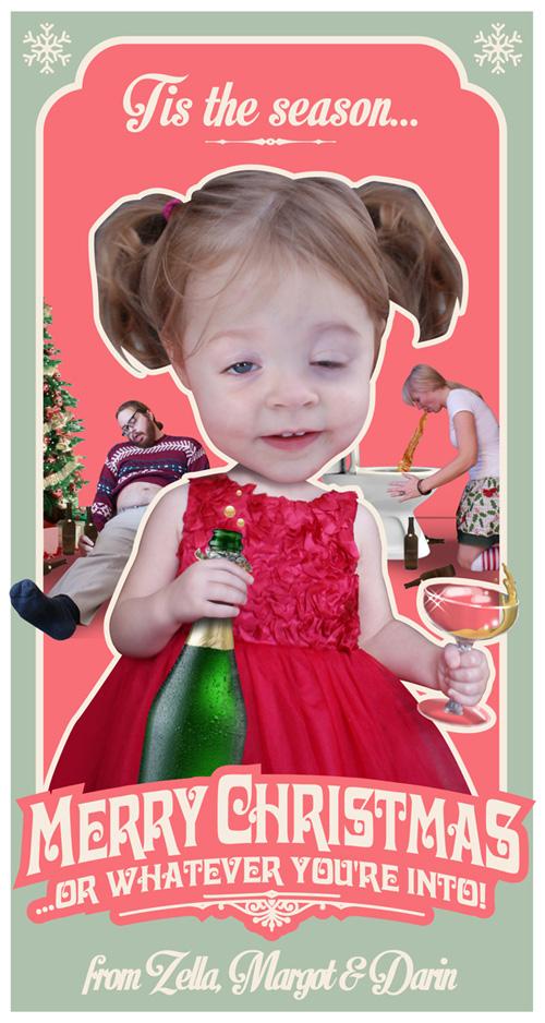 Shock Family Christmas Card: 2013