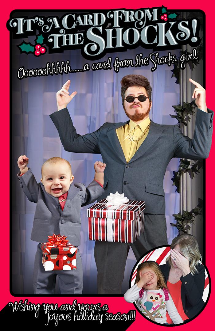 Shock Family Christmas Card: 2015