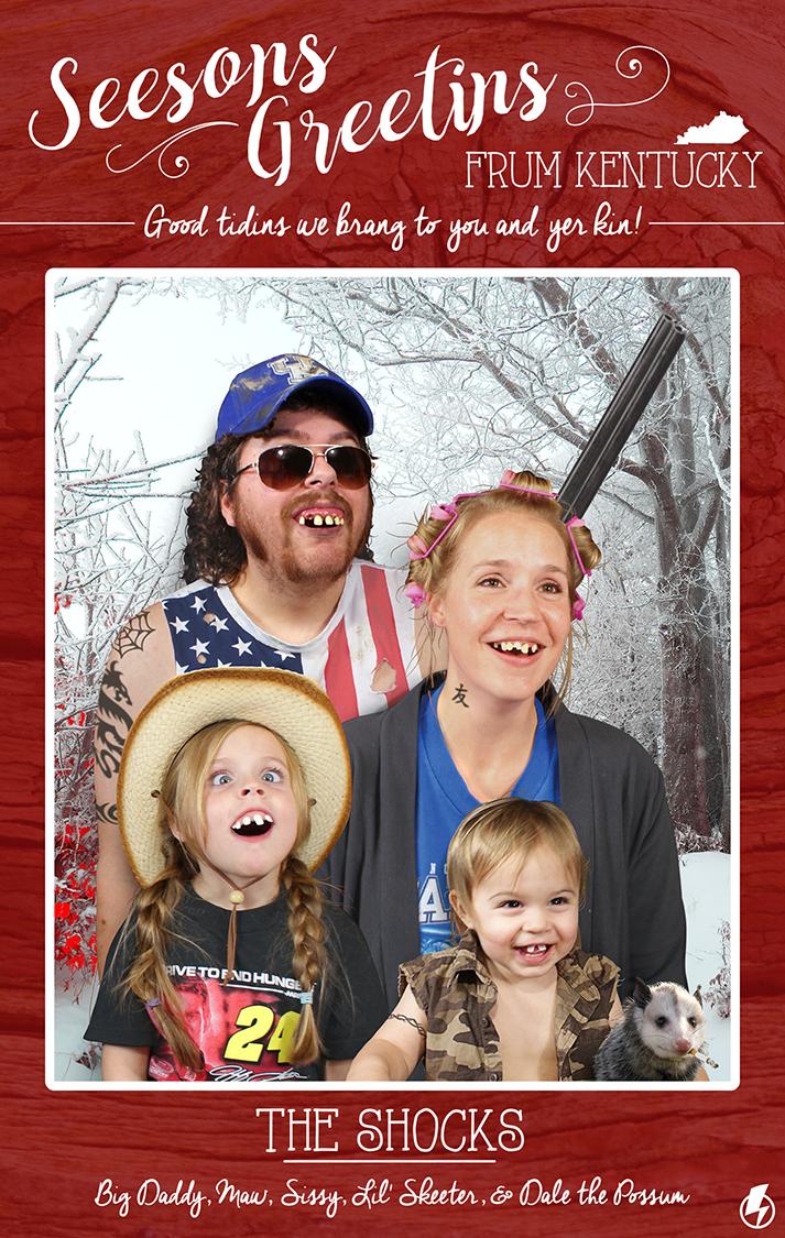 Shock Family Christmas Card: 2016