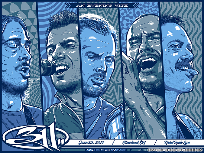 311: Cleveland 2017...AVAILABLE IN THE STORE