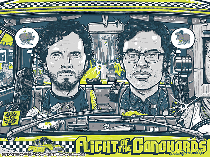 Flight of the Conchords: New York 2016...AVAILABLE IN THE STORE