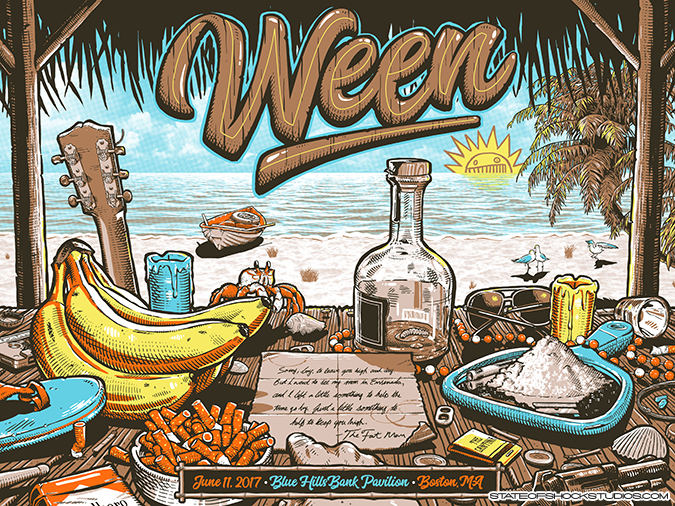 Ween: Boston 2017...SOLD OUT