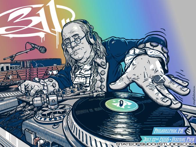 311: Philadelphia 2016 Rainbow Foil