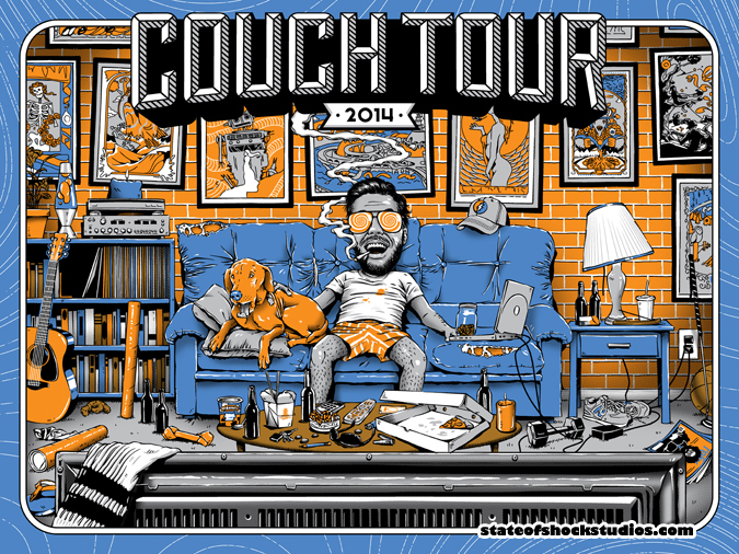 Couch Tour 2014 Regular Edition