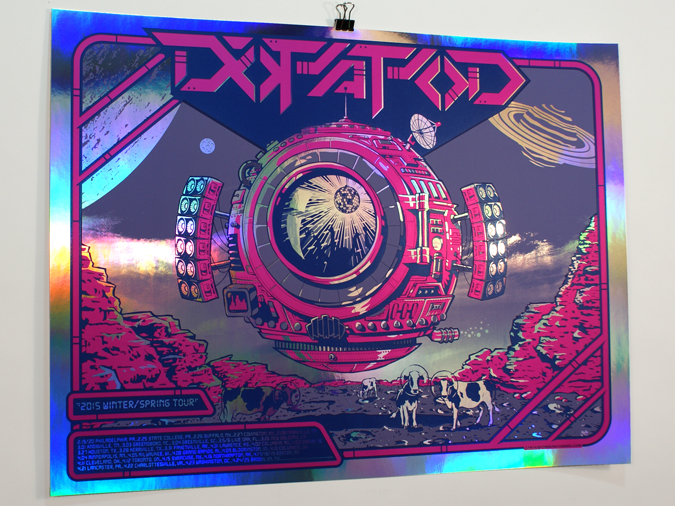 Dopapod: Winter/Spring 2015 Rainbow Foil