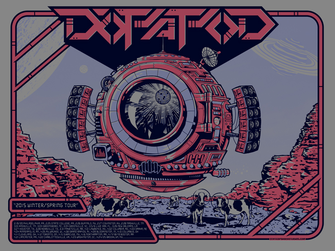 Dopapod: Winter/Spring 2015 Steel Blue Variant