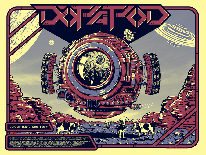 Dopapod: Winter/Spring 2015 Yellow Variant