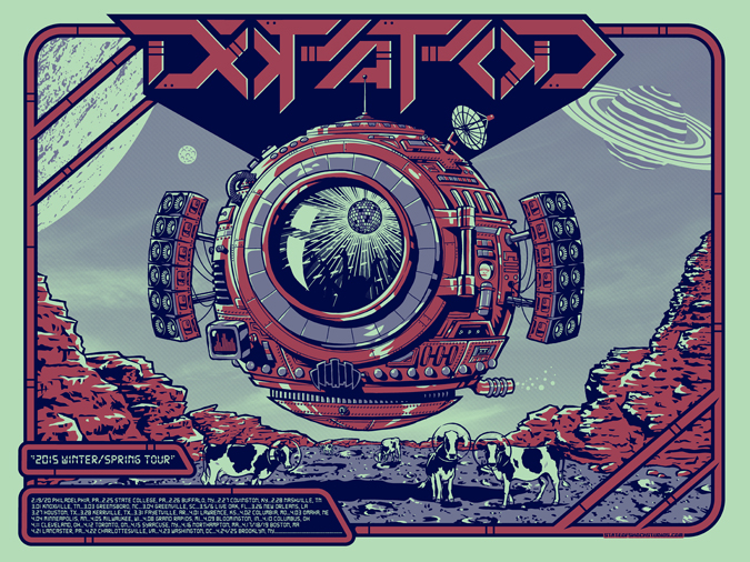 Dopapod: Winter/Spring 2015 Regular Edition