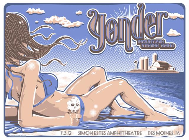 Yonder Mountain: Des Moines 2012