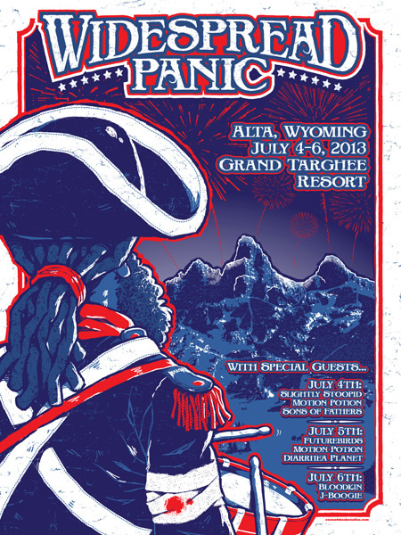 Widespread Panic: 4th of July 2013