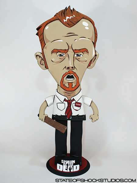 "Shaun of the Dead     2013. Mixed media, 15x5x36"".   AVAILABLE IN THE STORE"