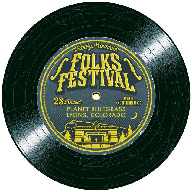 Folks Festival Logo: 2013