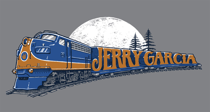 Jerry Garcia Estate: Shirt Design