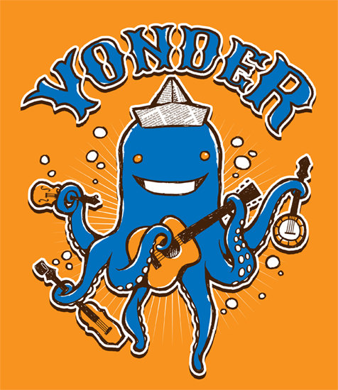 Yonder Mountain String Band: Kids Shirt Design