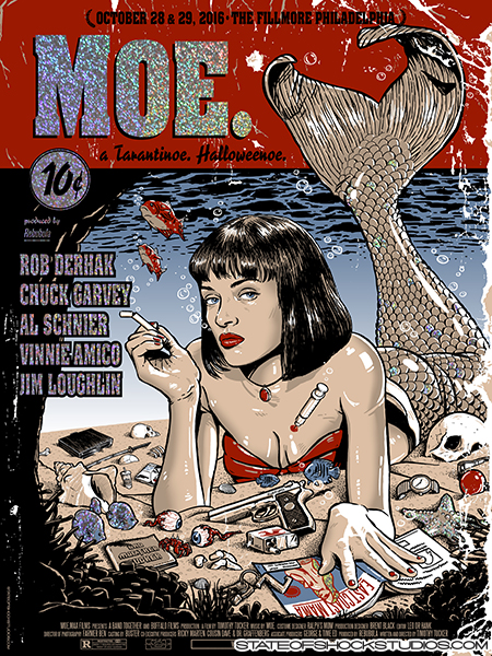 Moe.: Halloween 2016 Sparkle Foil