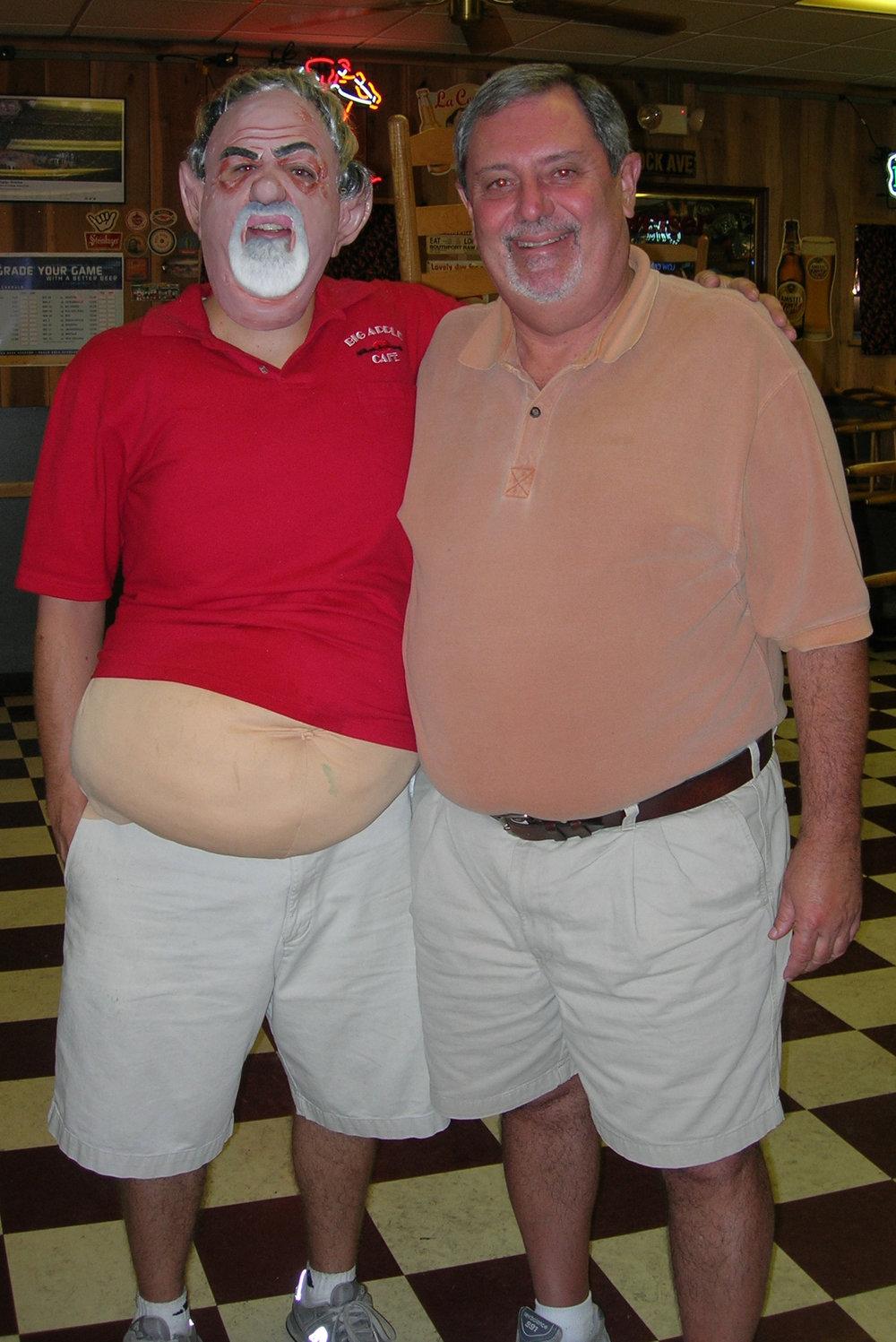 My boss & I...Halloween 2006