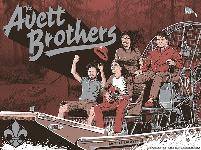 The Avett Brothers: Lafayette 2018 Regular Edition