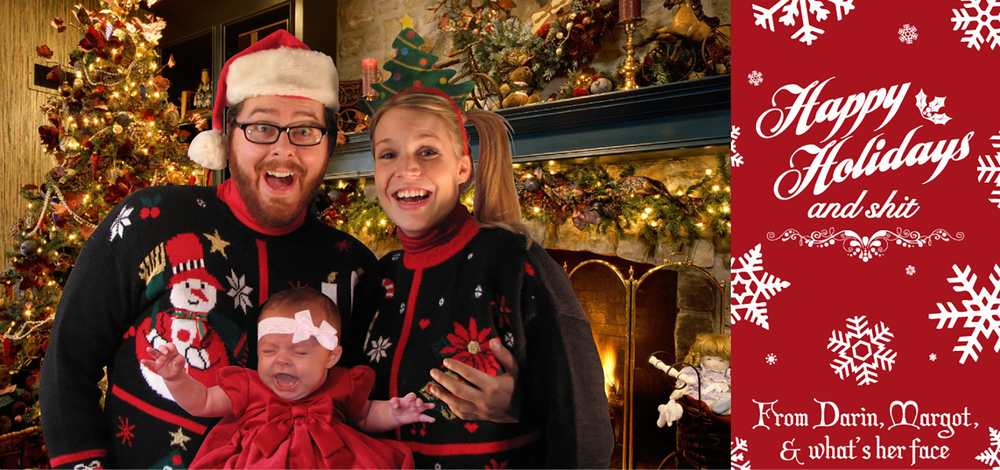 Shock Family Christmas Card: 2011