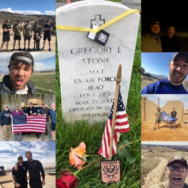 Team Stone Worldwide.  Coming together even when we are so far apart.  Thank you to everyone who participated.  #idaho #teamstone124th @tacp24hrchallenge @tacpdevelopment @tacpa_official @tacpassociation @beyond.clothing @bemeyers @wrm.fzy @snakefarmco #airforce #jtac #tacp @kitfoxdesigngroup @acousticattenuationgroup @mission43 @ultrashootingsolutions