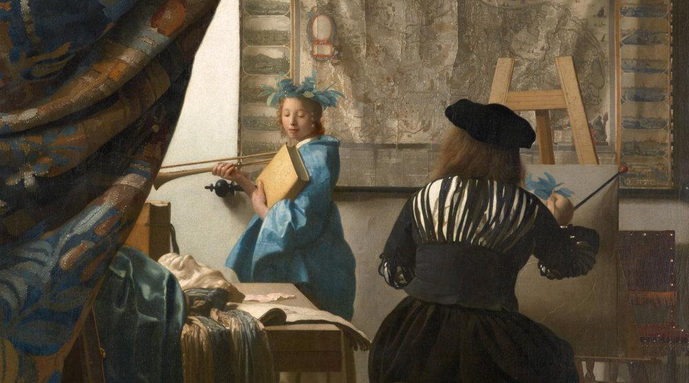 JOHANNES VERMEER - ARTISTE DE NOVEMBRE