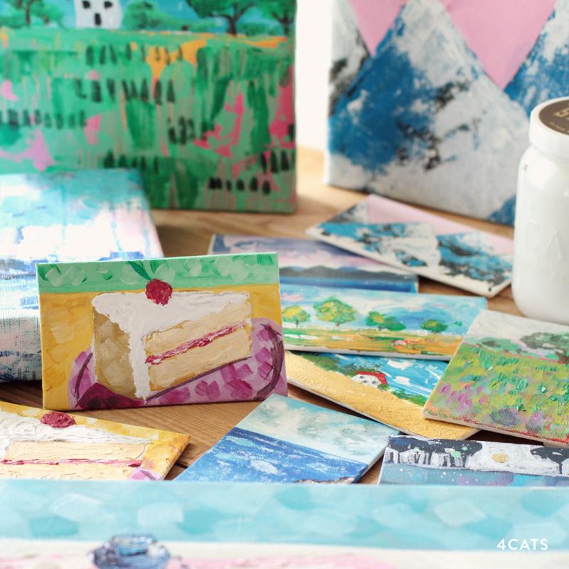 NOVEMBRE—ÉTUDE ET PEINTURE ACRYLIQUE - Apprenez à faire des décisions par rapport à la composition, accorder de la valeur au jugement et à la vraie couleur avec un viseur. Faites de petites études en préparation pour le chef d'oeuvre final. Apprenez comment monter un canvas sur un cadre.