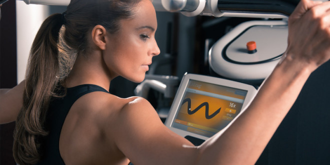 Automated - On day two, scan your RFID key and eGym will automatically set up the machine and guide you through your program. Every time. There's nothing to think about but getting stronger.