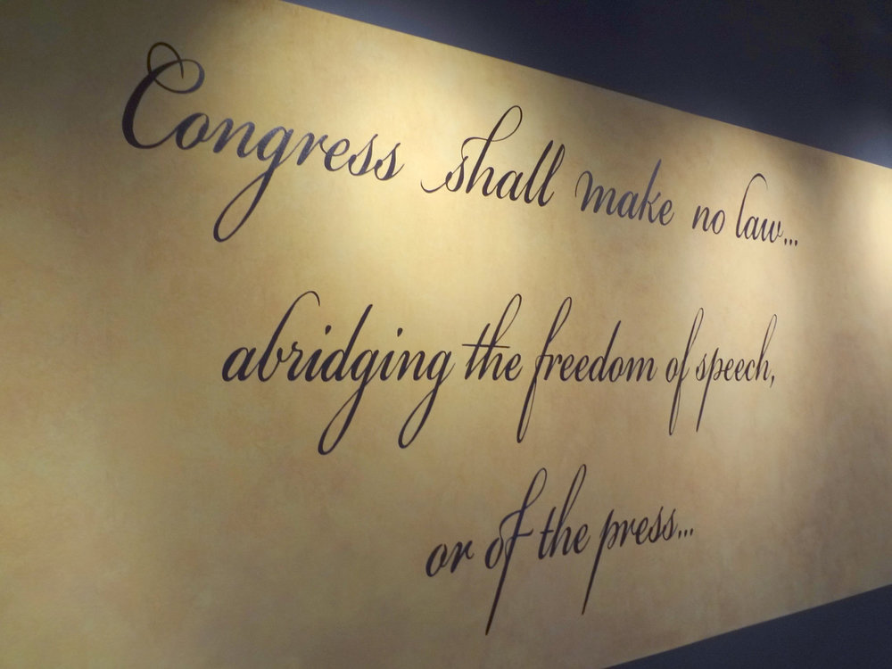 Words From the Constitution Mural