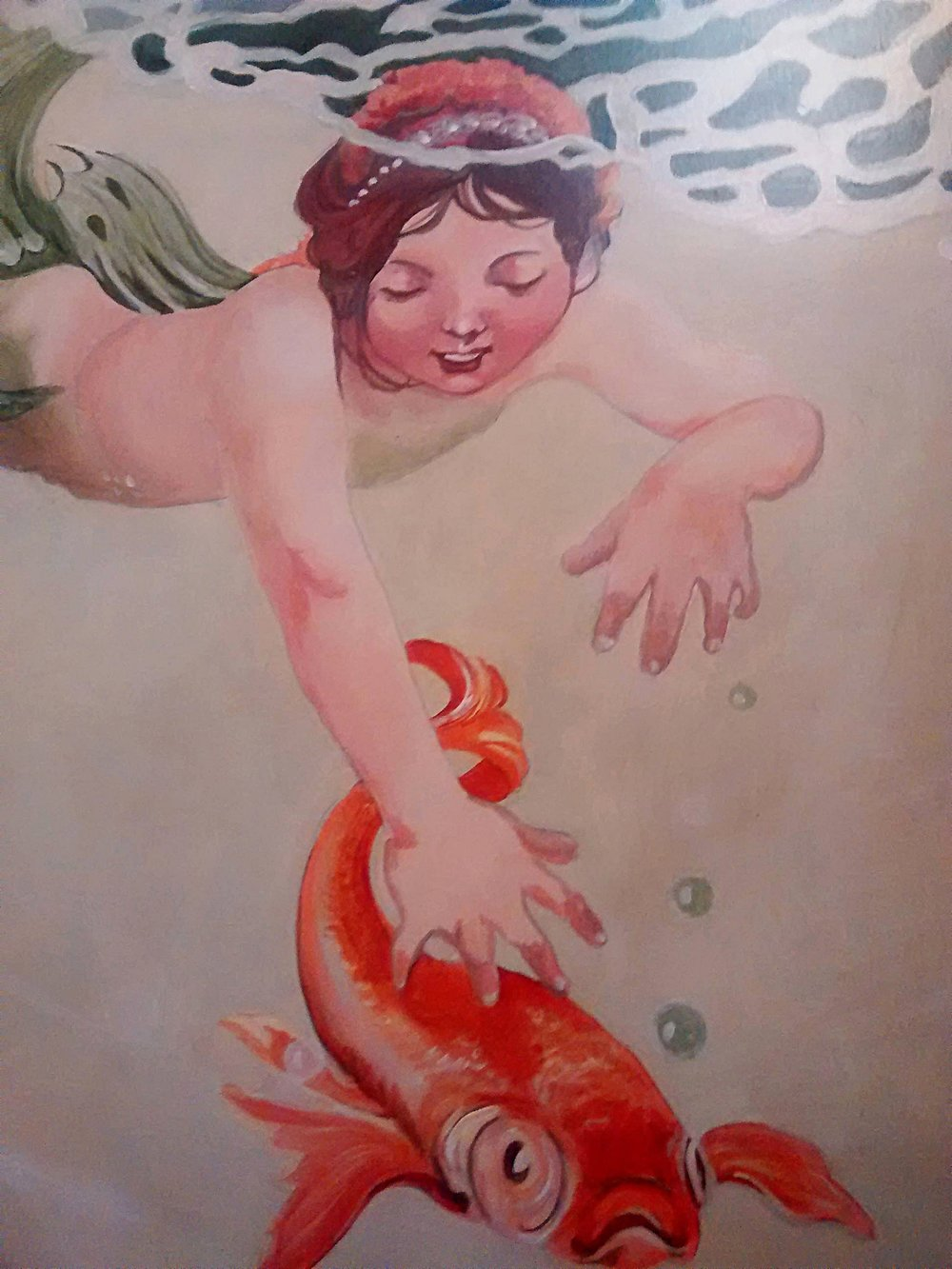 Mermaid Mural