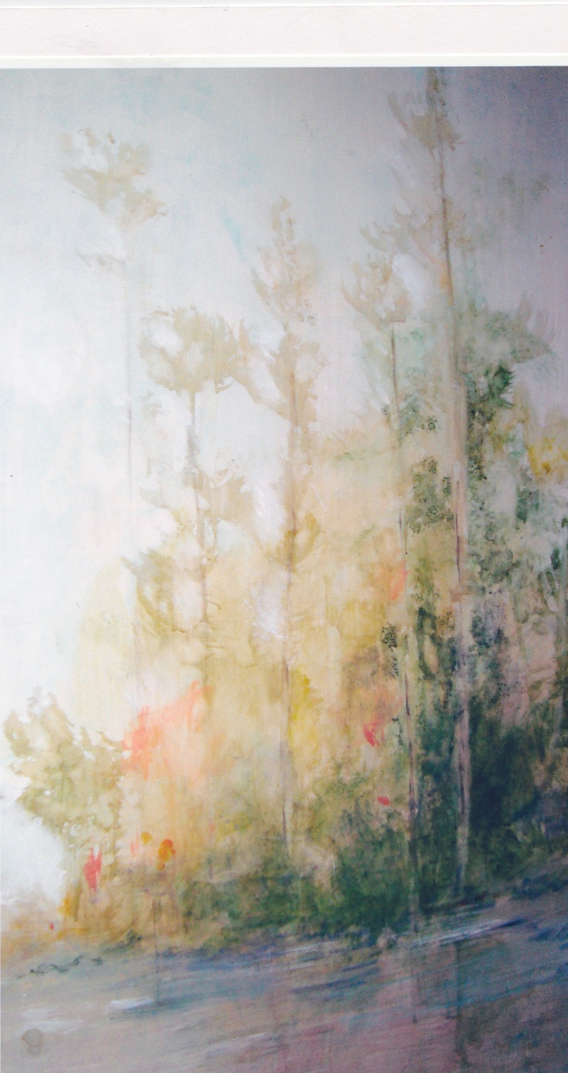 Detail of Trees and Light