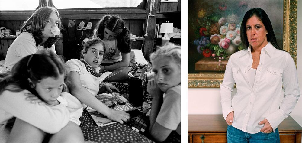 Marnie Bernstein (center) , Camp Pinecliffe, Harrison, ME; Marnie Bernstein Roskinl, NY