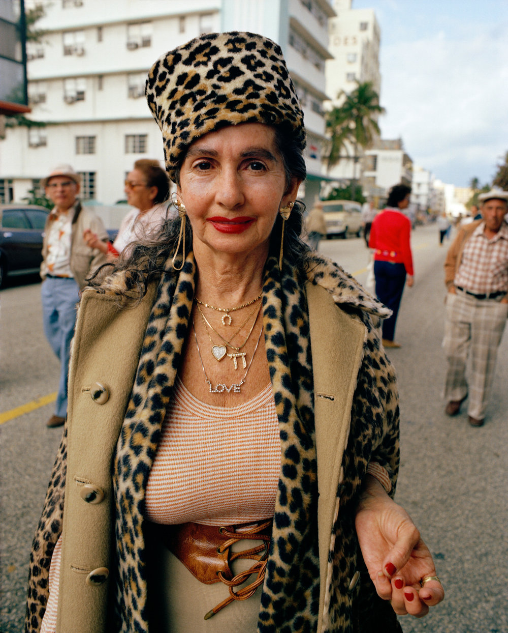 Untitled (Leopard Lady) Miami - South Beach 1982-85