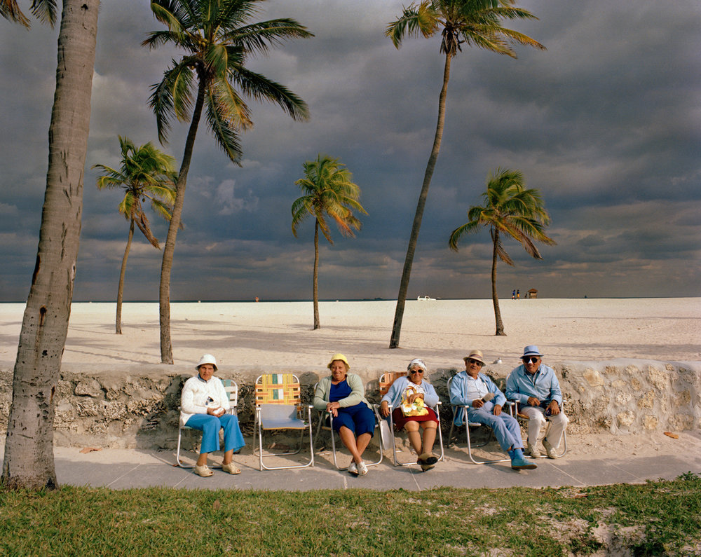 Untitled (Storm Approaching)   Miami - South Beach 1982-85