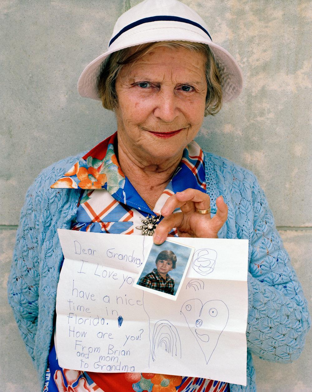Untitled (Grandma) Miami - South Beach 1982-85