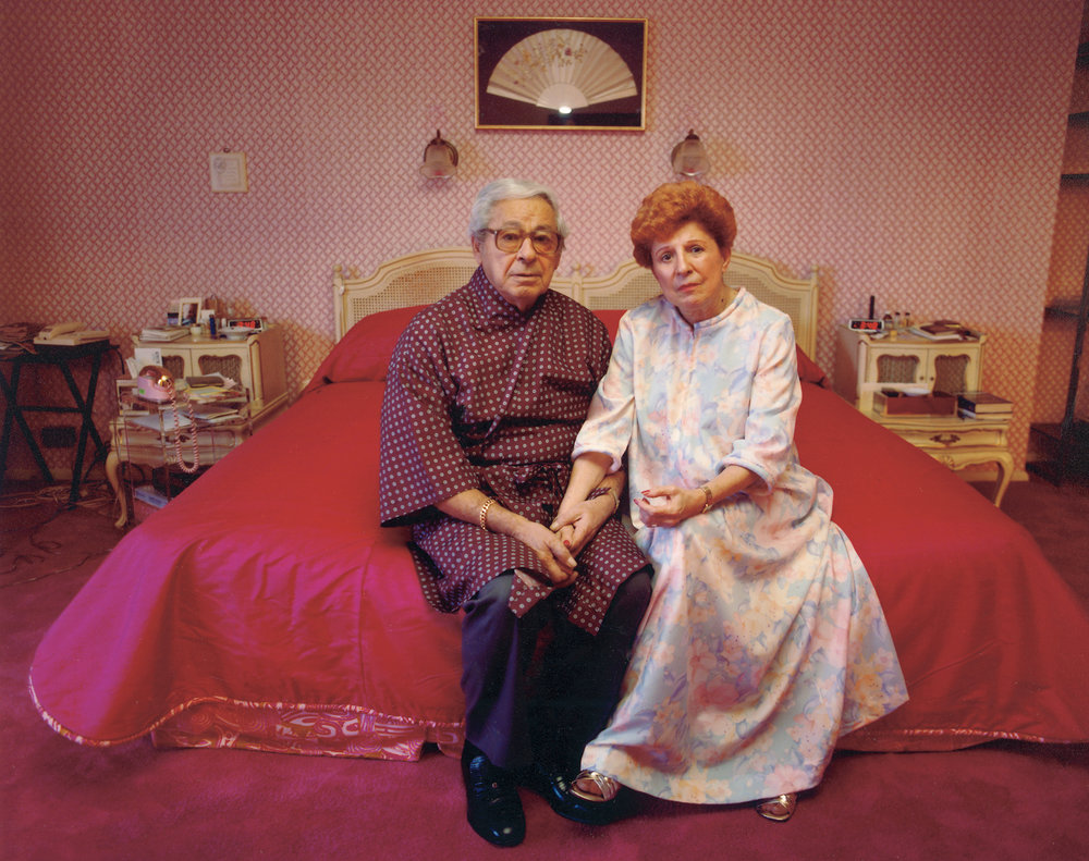 Mother and Al in their bedroom