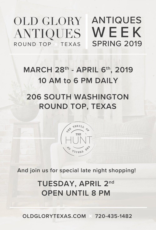 Old Glory Texas Spring 2019 Postcard 4x6 BACK.jpg